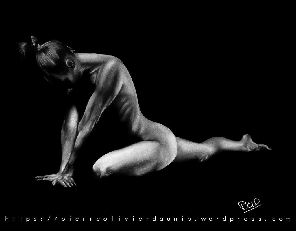 tableau moderne de femme nue 78 .artistic nude painting by POD