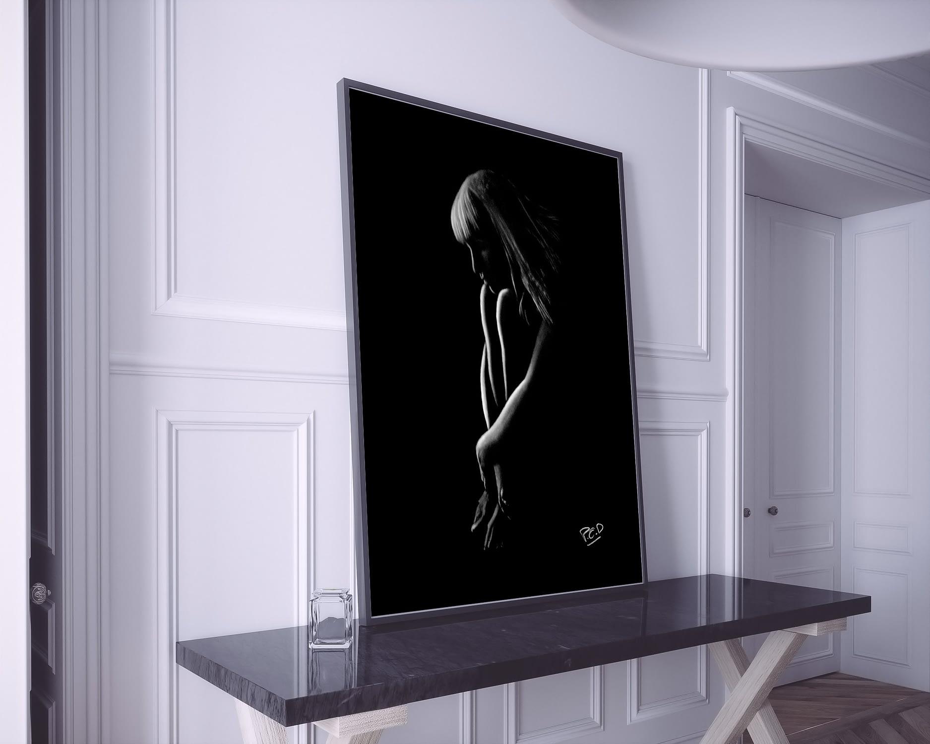 Peinture moderne de femme nue n° 62