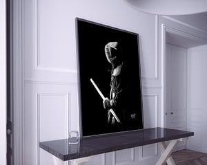 deco moderne kendo.kendoka modern painting