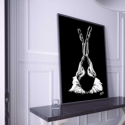 tableau-peinture-moderne-de-danseuse-classique-pastel-15-dance-painting