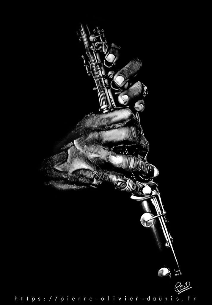 clarinettist painting