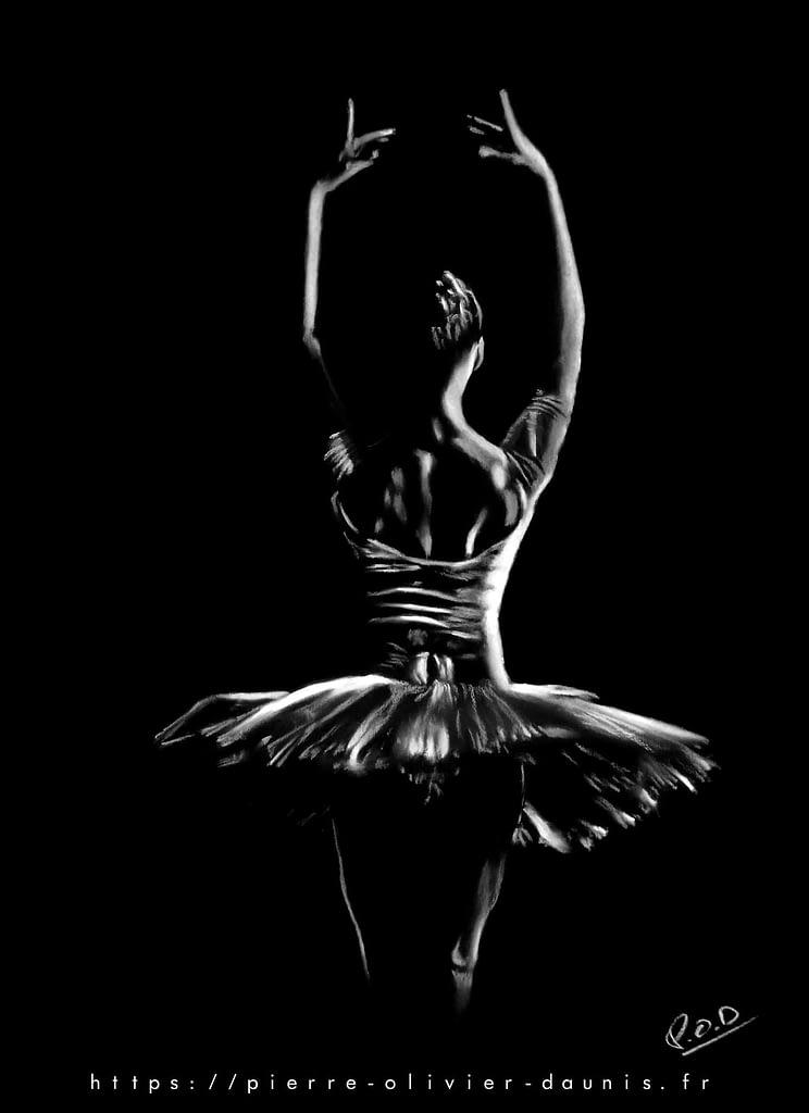 tableau-peinture-moderne-de-danseuse-classique-pastel-19-dance-painting