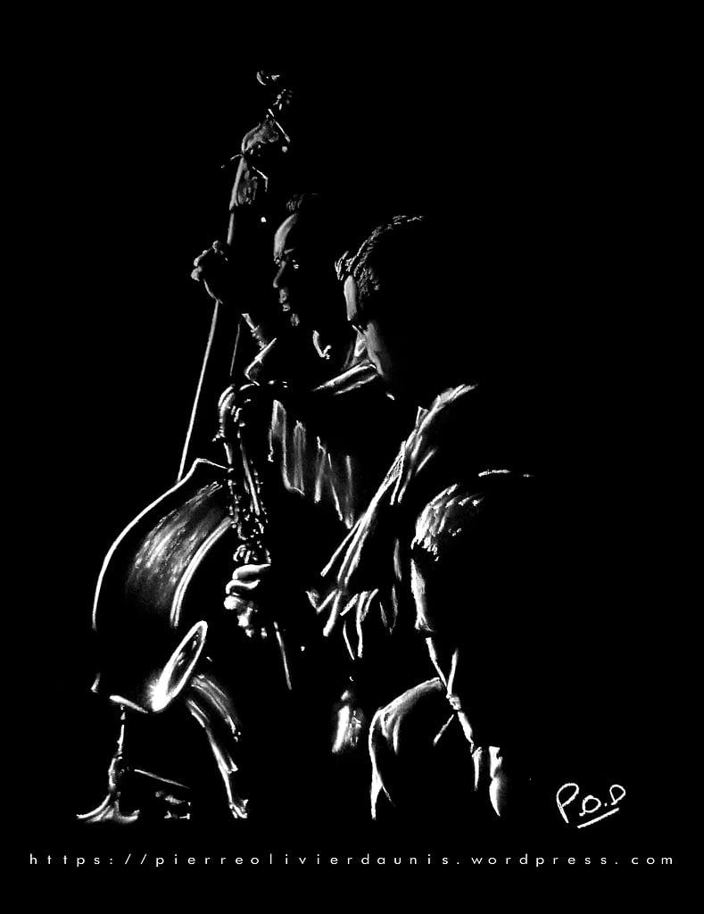 tableau moderne de musique 12 . jazz band painting
