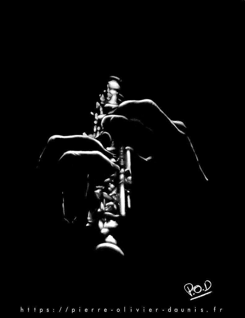 Tableau de musique hautboïste