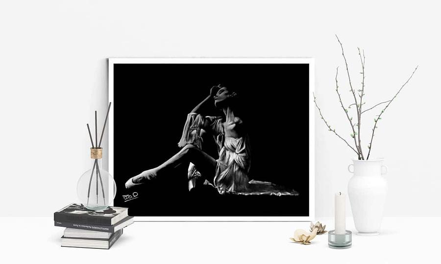 tableau-peinture-moderne-de-danseuse-classique-pastel-17-dance-painting