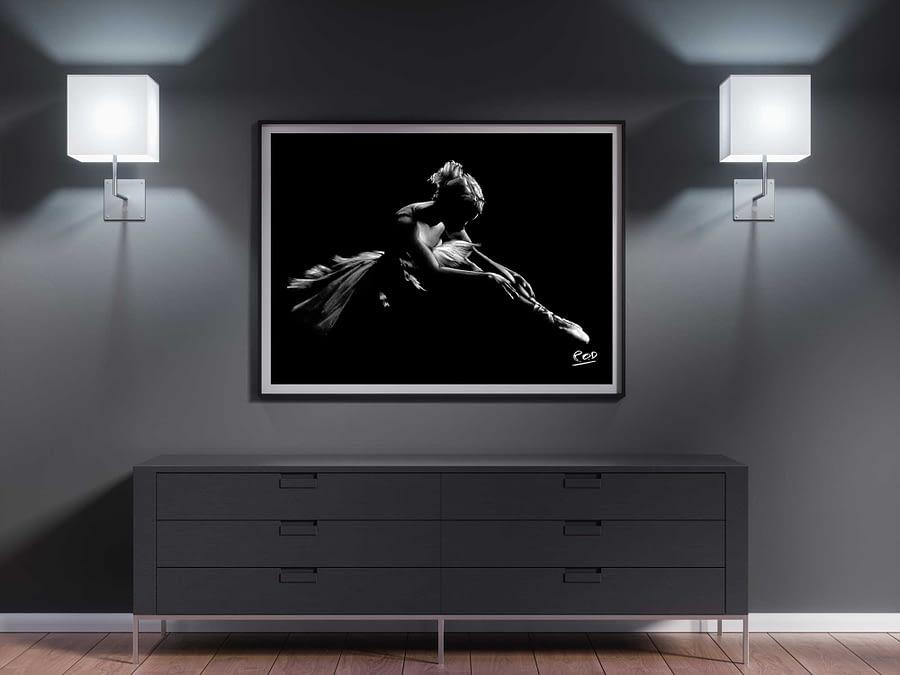 tableau-peinture-moderne-de-danseuse-classique-pastel-14-dance-painting