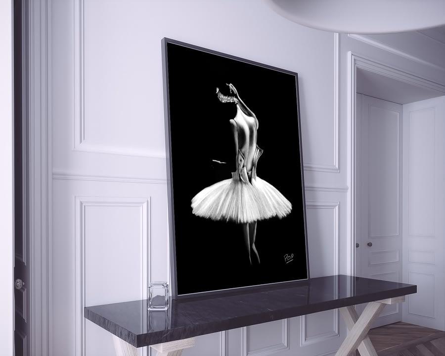tableau-peinture-moderne-de-danseuse-classique-pastel-11-dance-painting