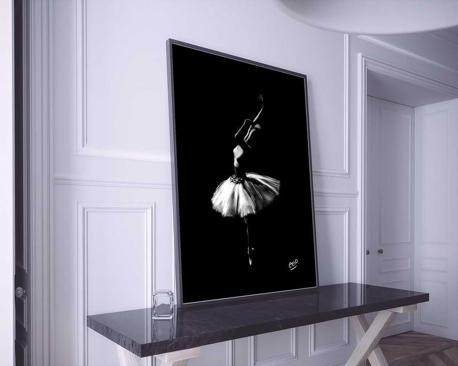 tableau-peinture-moderne-de-danseuse-classique-pastel-13-dance-painting