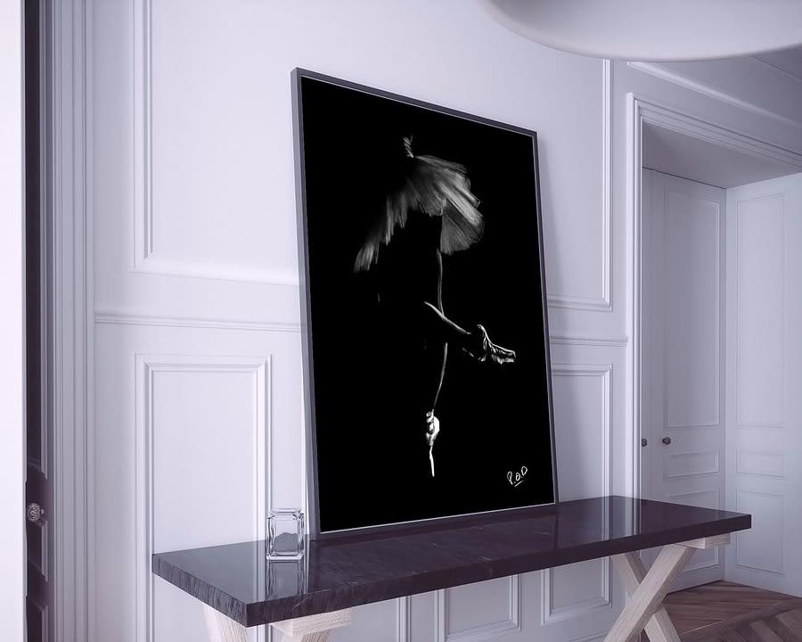 tableau-peinture-moderne-de-danseuse-classique-pastel-18-dance-painting