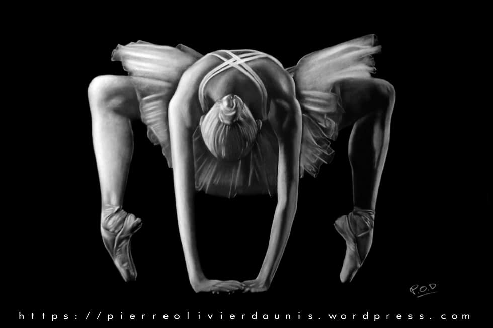 tableau de danseuse moderne 6 modern dancer painting